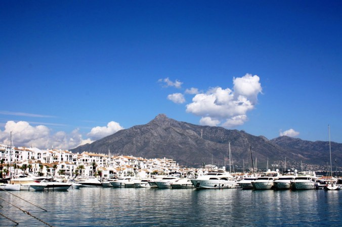 panoramique de Port Banús