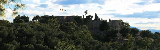Chateau Gibralfaro, Malaga. Andalousie