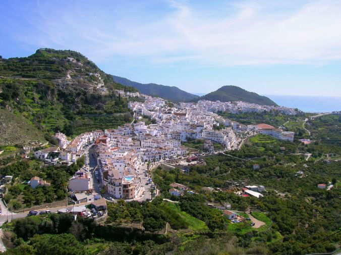 panoramique de Frigiliana