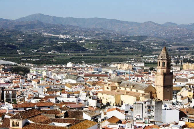 panoramique de Vélez - Málaga
