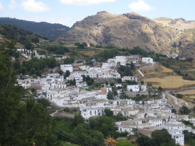 panoramique de les Alpujarras