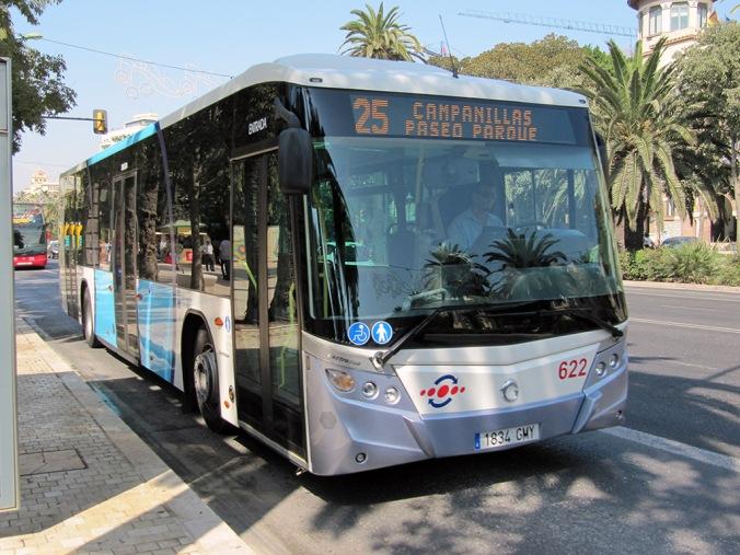 Moyennes de transports à Malaga, Andalousie