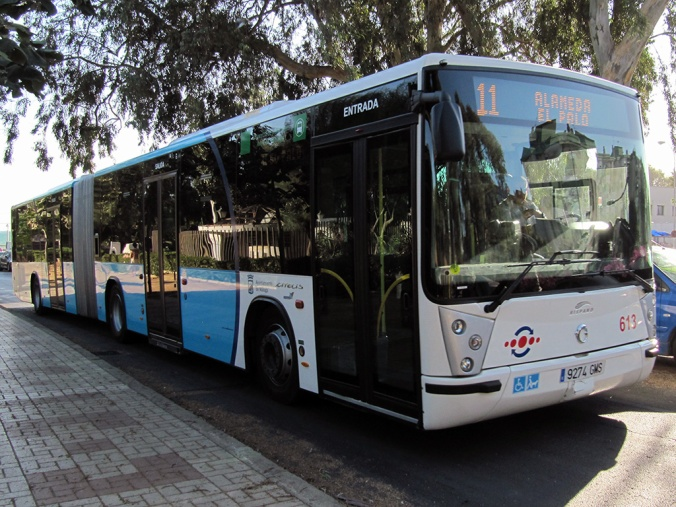 Moyens de transports à Malaga
