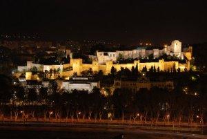 L´Alcazaba-Malaga, Andalousie