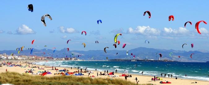 Les plages de Tarifa, Cadix