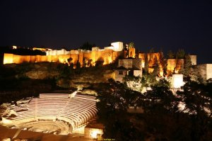 Théâtre Romain à Malaga, Andalusie