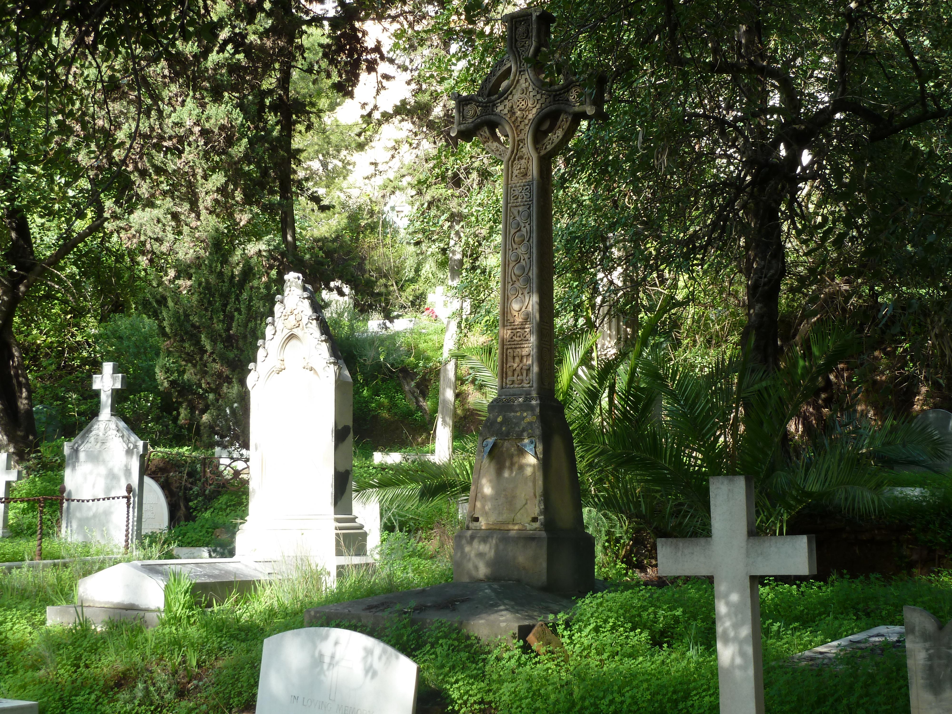 Le cimeti re anglais de malaga andalousie visiter l for Visiter les jardins anglais