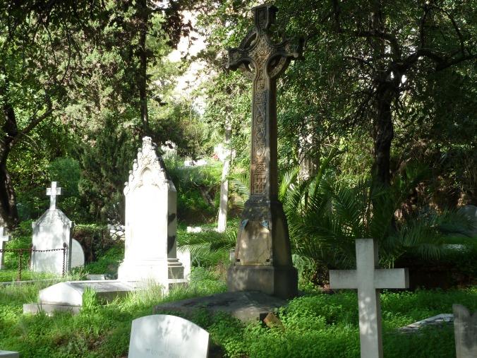 Le cimetière anglais de Malaga, Andalousie