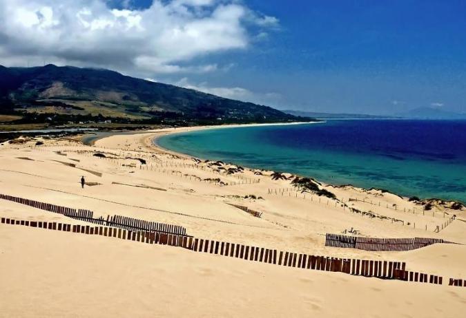 Playa de Valdevaqueros à Tarifa, Cadix