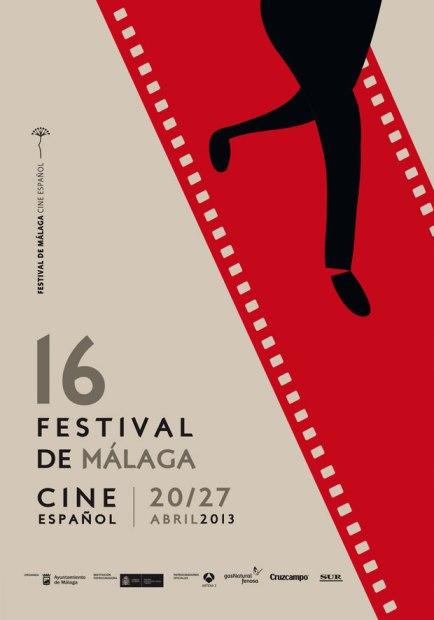 Affiche du Festival de Cinéma de Malaga 2013