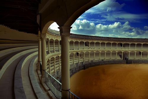 Les Arènes de Ronda, Malaga