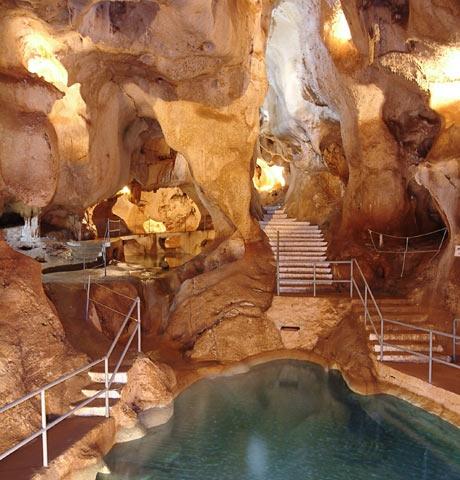 La Grotte du Trésor - Salle des Lacs - Rincon de la Victoria, Malaga