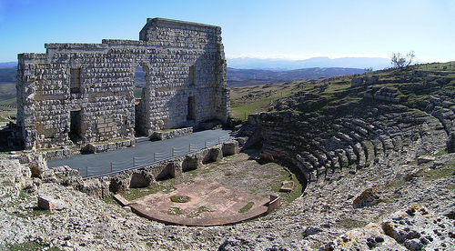 Théâtre Romain - Site arquéologique Acinipo, Ronda