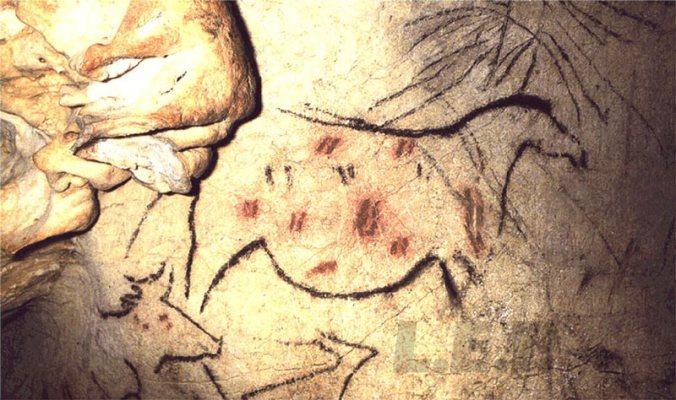 La grotte de La Pileta, Benaojan, Malaga