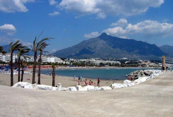 Plage Puerto Banus, Marbella, Malaga