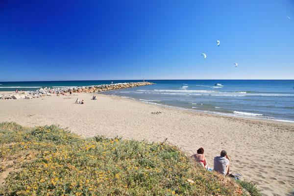 Plage de Cabopino, Marbella, Malaga.