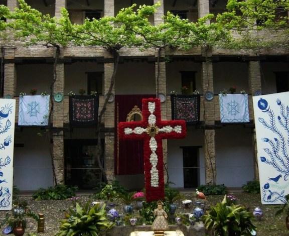 Cruces de Mayo, fète à Grenade.