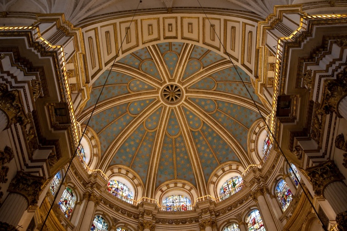 Cathédrale de Grenade, Andalousie.