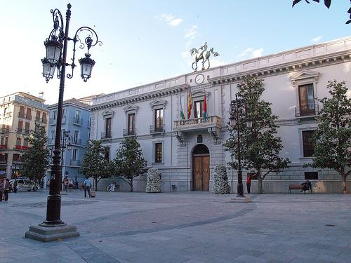 Plaza del Carmen - Mairie de Grenade (Andalousie)