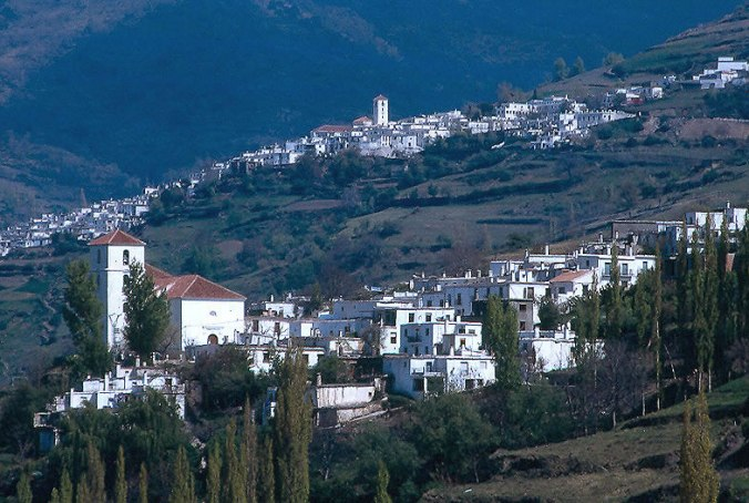 Capileira et autres villages des Alpujarras, Grenade.