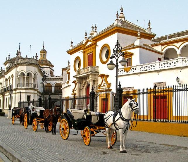 Arènes de Séville (Andalousie)
