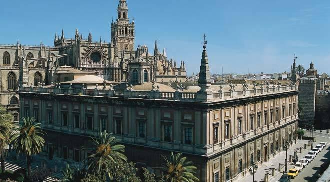 Archives des Indes à Seville (Andalousie)