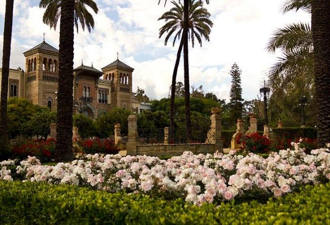 Parc de Maria Luisa à Séville (Andalousie)
