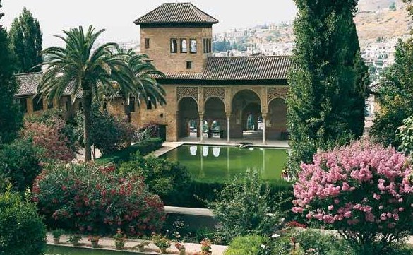 Le Généralife, Alhambra (Grenade)