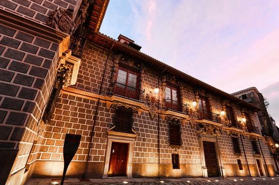 Palais de la Madraza, Grenade, Andalousie.