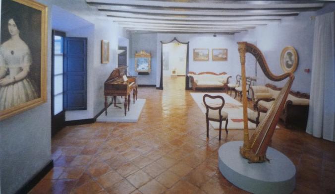 Salle Gabinete Isabelino. Image du guide oficiel du musée (Grenade)