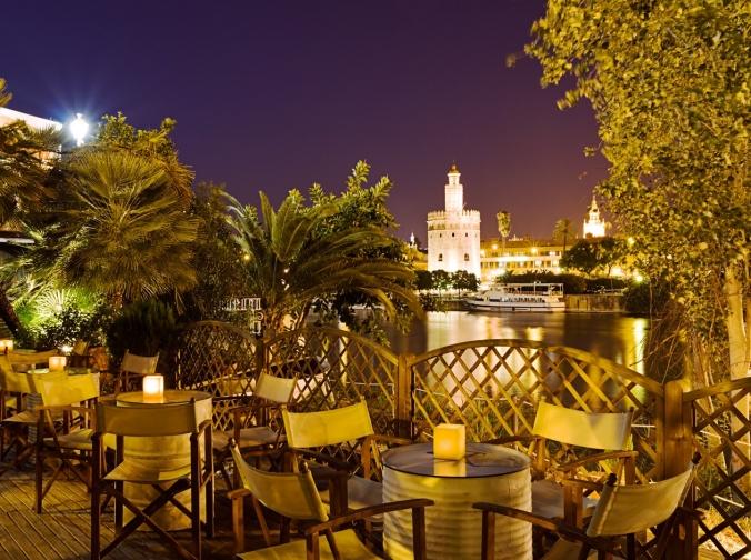 Séville la nuit (Andalousie)