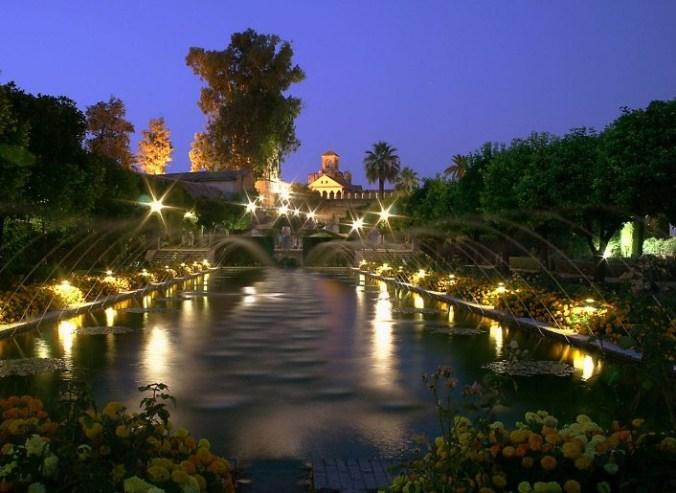 Jardins de l'Alcazar de Cordoue (Andalousie)
