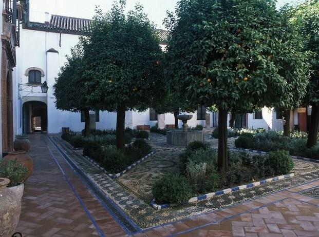 Patio duMusée des Beaux Arts- Cordoue (Andalousie)