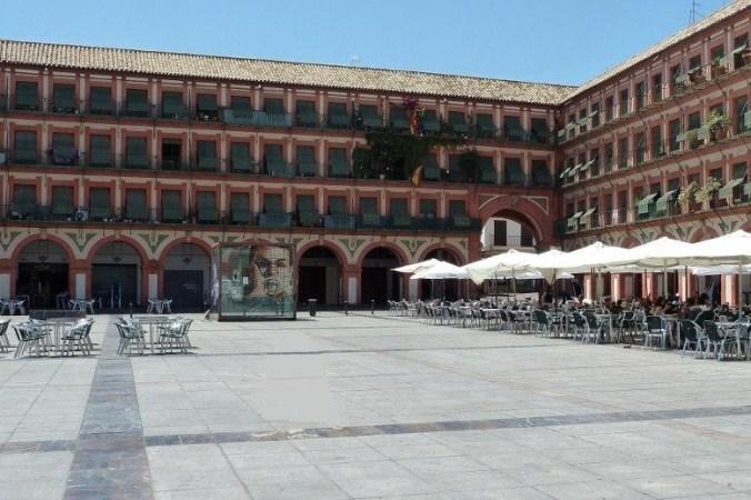 Plaza de la Corredera, Cordoue (Andalousie)