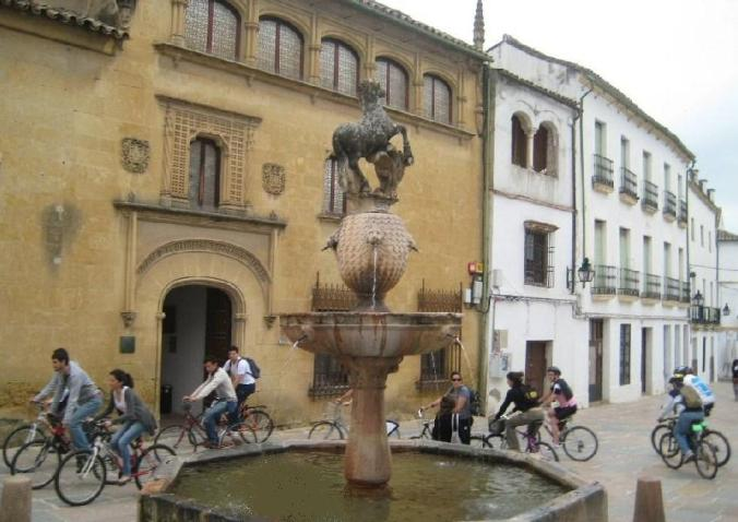 b bicyclette à Cordoue (Andalousie)