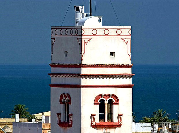 Torre Tavira, Cadix (Andalousie)
