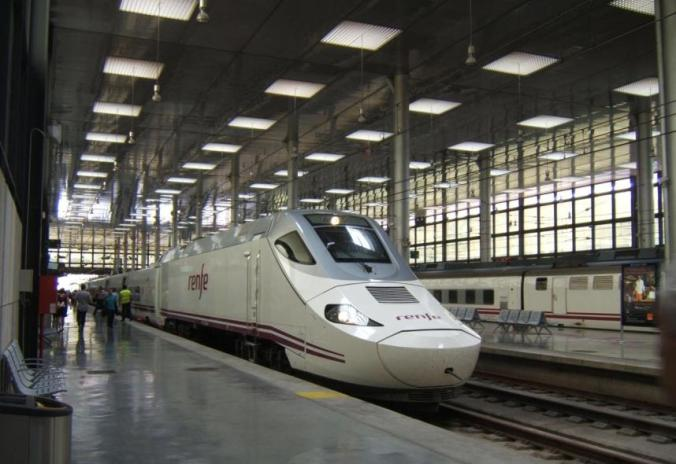 Gare Renfe à Cadix (Andalousie)