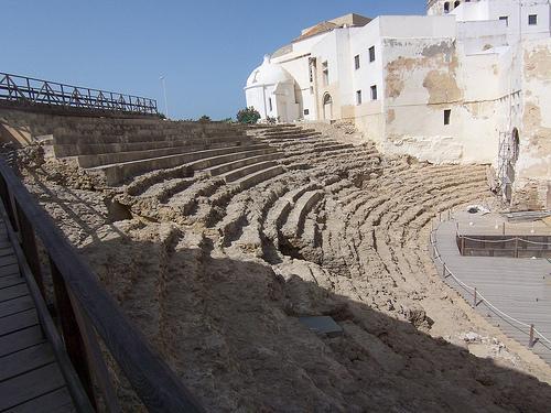 Théâtre Romain, Cadix (Andalousie)