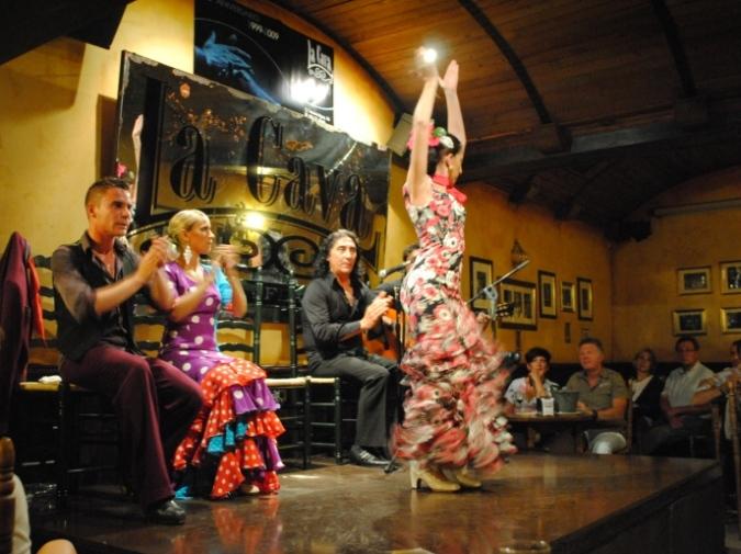 Flamenco à Cadix (Andalousie)