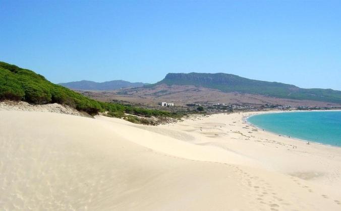 Plage (Bolonia) dans la province de Cadix (Andalousie)