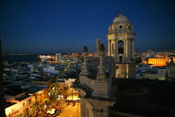 Sortir la nuit à Cadix  (Andalousie)