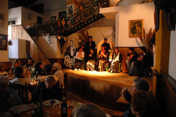 Taberna Flamenca à Jerez, Cadix (Andalousie)