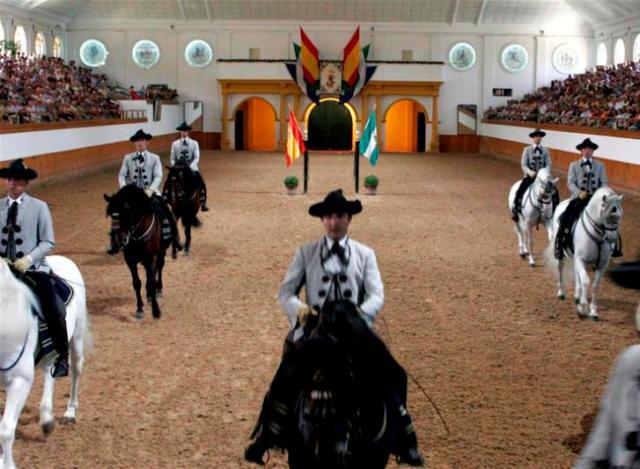 École Royale Andalouse d'Art Équestre de Jerez, Cadix (Andalousie)