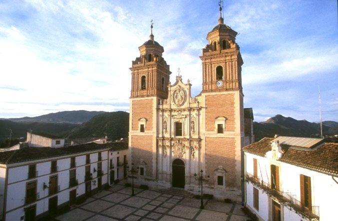 Église de la Encarnación à Vélez-Rubio, Almería (Andalousie)
