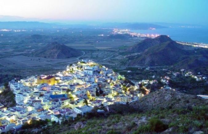 Vues sur Mojacar, Almería (Andalousie)