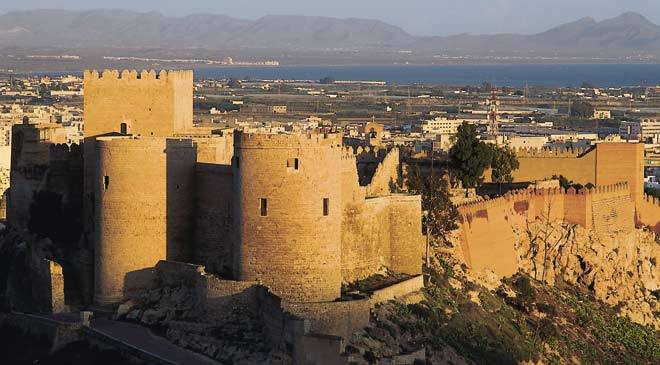 Alcazar d'Almería (Andalousie)