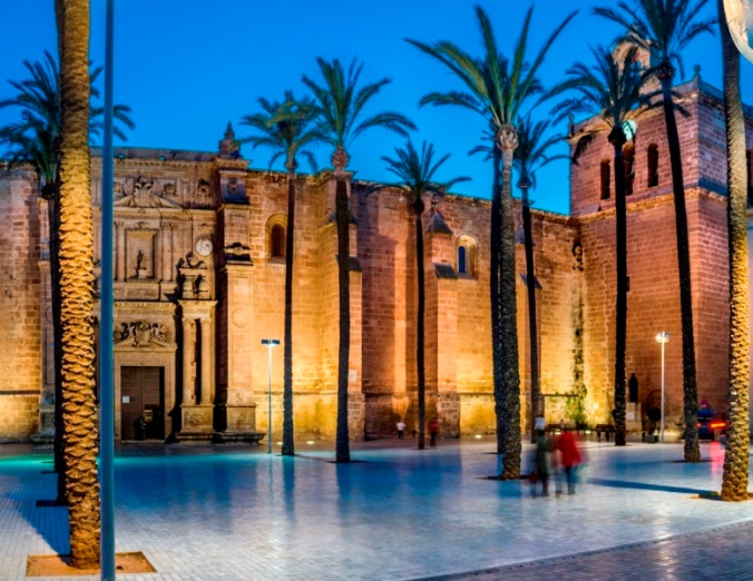 Cathédrale d'Almería (Andalousie)