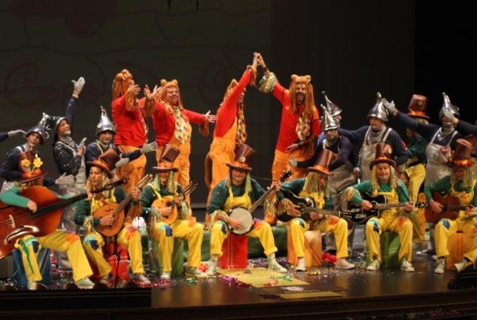 Le Carnaval à Almeria (Andalousie)