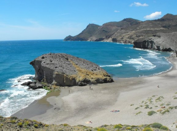 Playa de Monsul, Almería (Andalousie)