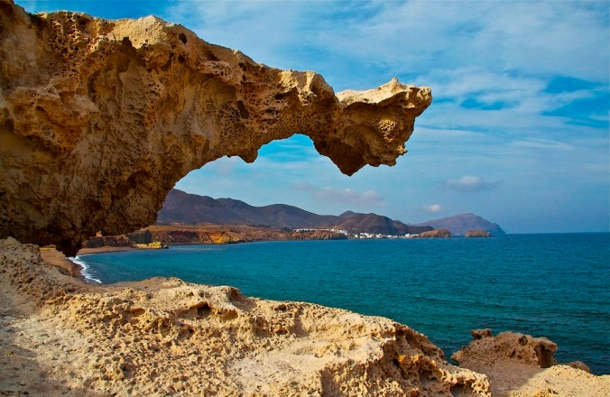 Plage des Escullos, Almeria (Andalousie)